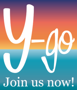 Y-Go Logo dark background Horizon