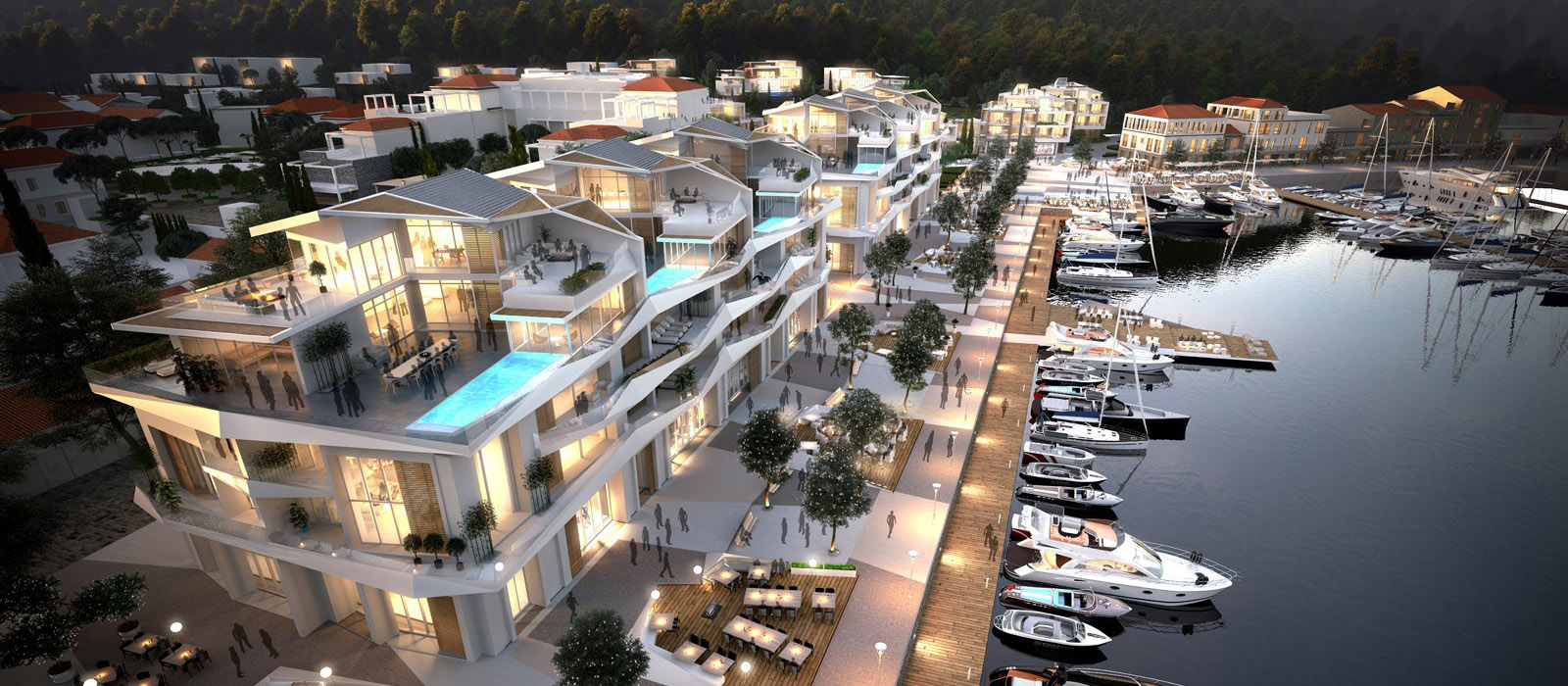 Marina Apartments,Porto Novi,Montenegro,3 Bedrooms Bedrooms,3 BathroomsBathrooms,Development - Apartment,Building MA1,Marina Apartments,1018